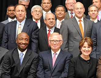 Chief executive officer - A group of Fortune 500 CEOs in 2015.
