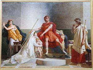 Neoptolemus - Neoptolemus and Andromache, by Pierre-Narcisse Guérin.