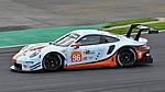 Gulf Racing Porsche 911 RSR Barker Silverstone 2018 Village.jpg