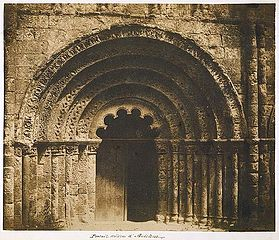 Central Portal of the Church of Saint–Jacques, Aubeterre