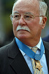 "H.C. ""Barney"" Barnum Jr. at the Medal of Honor Flag ceremony for Michael Murphy .jpg"