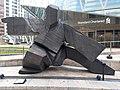 HK 中環 Central 交易廣場 Exchange Square sculpture 雕塑師 朱銘 Ju Ming 太極雕塑 Taichi Single Whip Dip January 2020 SS2 02.jpg