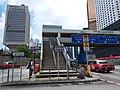 HK 中環 Central 天橋 footbridge 夏慤道 Harcourt Road August nearby 怡和大廈 Hutchison House August 2019 SSG 03.jpg