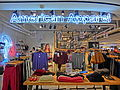 HK Admiralty Queensway Plaza 金鐘廊 mall shop American Apparel clothing Nov-2013.JPG