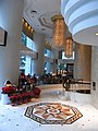 HK ISL Island Shangri-La Hong Kong 港島香格里拉酒店 hotel lobby hall interior flooring Dec-2012.JPG