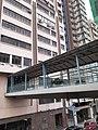 HK SW 上環 Sheung Wan 干諾道西 Connaught Road West footbridge February 2020 SS2 03.jpg