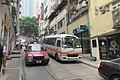 HK Sheung Wan Upper Station Hospital Authority 香港非緊急救護服務 Non-emergency Ambulance Transfer Services van n taxi May 2017 IX1.jpg