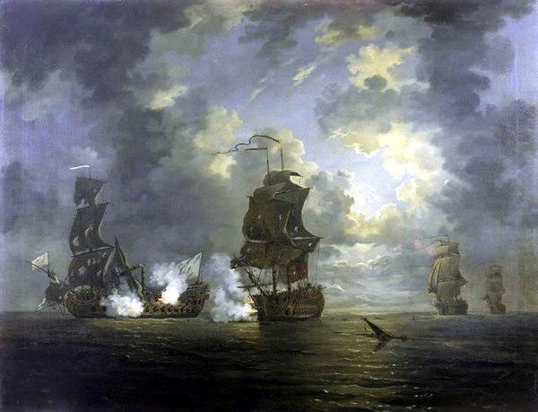 カルタヘナの海戦 (1758年) - Wi...