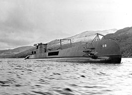 Hr.Ms. O 19 in Holy Loch, 1943