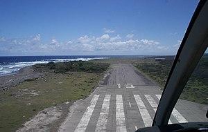 W. H. Bramble Airport - Image: HW Bramble Airport Montserrat Runway 15