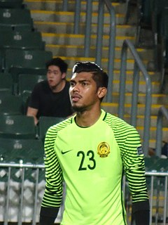 Hafizul Hakim Malaysian footballer