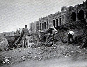 History of the Technion – Israel Institute of Technology - Construction of the Technion, 1912.