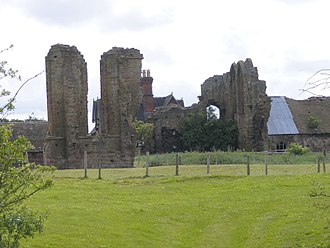 Roger Northburgh - remains of Halesowen Abbey, where Northbugh was consecrated in 1322.