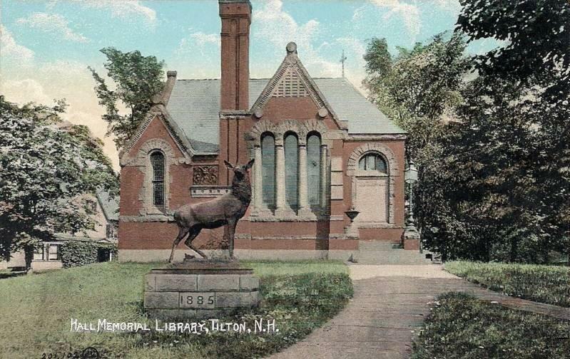 Hall Memorial Library c. 1905