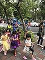 Halloween Parading of Kindergarten's Children at Xindong Street, Songshan District, Taipei 20171024d.jpg