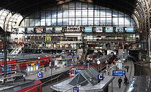 Hamburg Hauptbahnhof - Quelle: Wikipedia (Nutzer: Sterilgutassistentin)