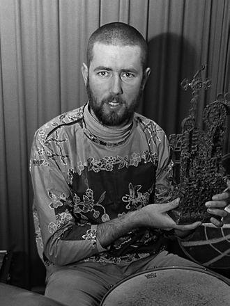 Han Bennink - Han Bennink awarded (1967)