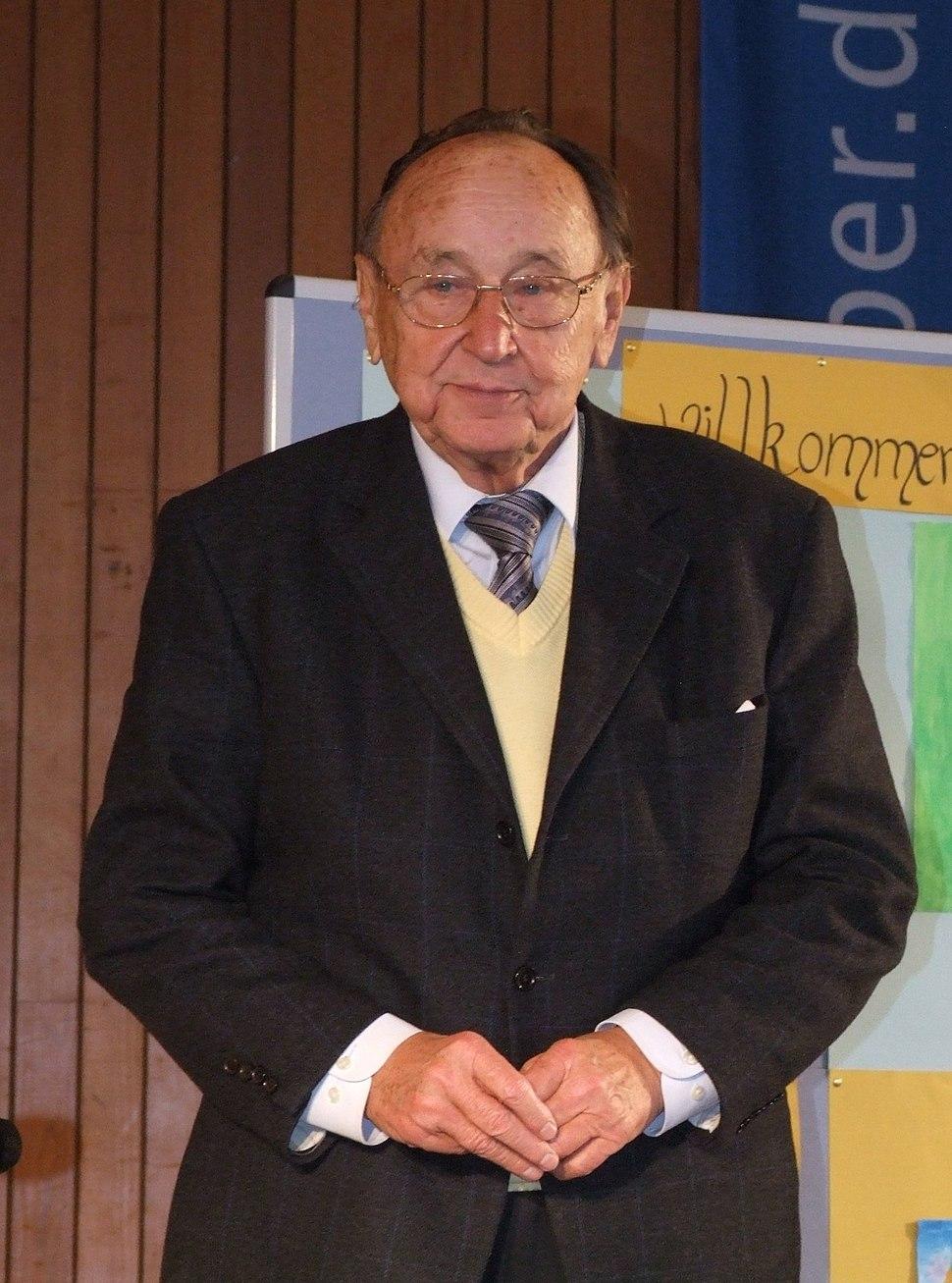 Hans-Dietrich Genscher Dezember 2007 CJD Koenigswinter 2