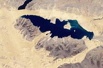 Khar Lake (Zavkhan) - Image: Har Nuur, Mongolia