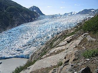 Kenai Mountains - Skilak Glacier in the Kenai Mountains