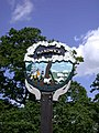 Hardwick Village Sign - detail - geograph.org.uk - 879068.jpg