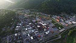 Harlan, Kentucky in 2015.
