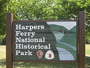 Harpers Ferry Park sign, WV IMG 4662