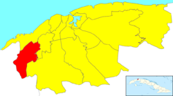Location of La Lisa in ہوانا