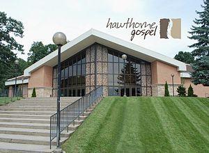 Hawthorne Gospel Church - Entrance to Hawthorne Gospel Church.