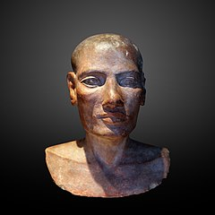 Head of a man-N 2289