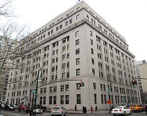 New York City Department of Health and Mental Hygiene - Image: Health Building 125 Worth Street