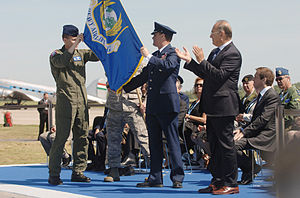 Heavy Airlift Wing - 2009 activation ceremony