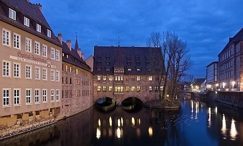 Heilig-Geist-Spital in Nuremberg, Germany