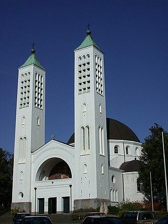 Jan Stuyt - Church in Heilig Landstichting