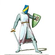 Helmeted Medieval Knight or Soldier (1)