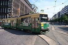 Raitiovaunulinjat Helsinki