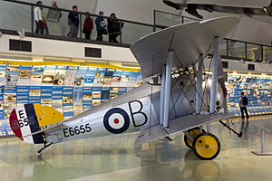 Sopwith Snipe - E6655 at the Royal Air Force Museum London