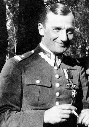 "Polish resistance movement in World War II - Major Henryk Dobrzański aka ""Hubal"""