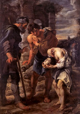 Justus of Beauvais - The Miracle of Saint Justus by Peter Paul Rubens