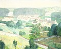 Het dorp Samois-sur-Seine, Frankrijk. Rijksmuseum SK-A-2715.jpeg