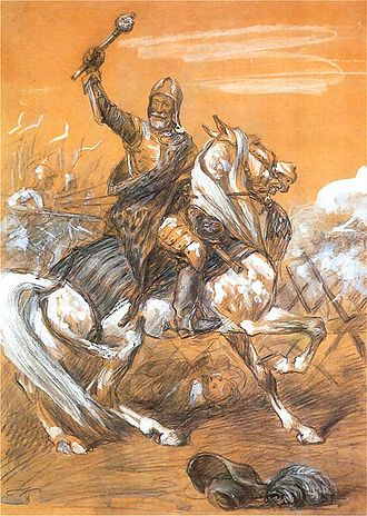 Polish–Swedish wars - Jan Karol Chodkiewicz painted by Juliusz Kossak