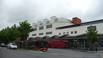 High Wycombe - High Wycombe Eden bus station in July 2009