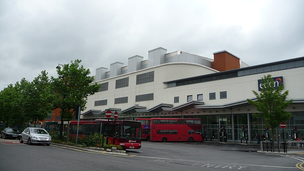 High Wycombe Eden bus station 2