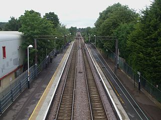 Highams Park stn high northbound.JPG