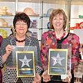 Hildegard und Margret Kaefer bei der Verleihung des Passion Stars 2014.jpg