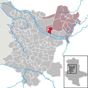 Hillersleben - Image: Hillersleben in BK