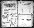 Hindi Manuscript 191, fols 104 verso 105 rec Wellcome L0024297.jpg
