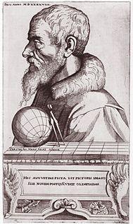 Augustin Hirschvogel 16th century German artist, mathematician, and cartographer