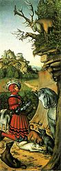 Lucas Cranach, o Velho: Saint Eustace