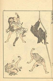 220px hokusai sketches hokusai manga vol6